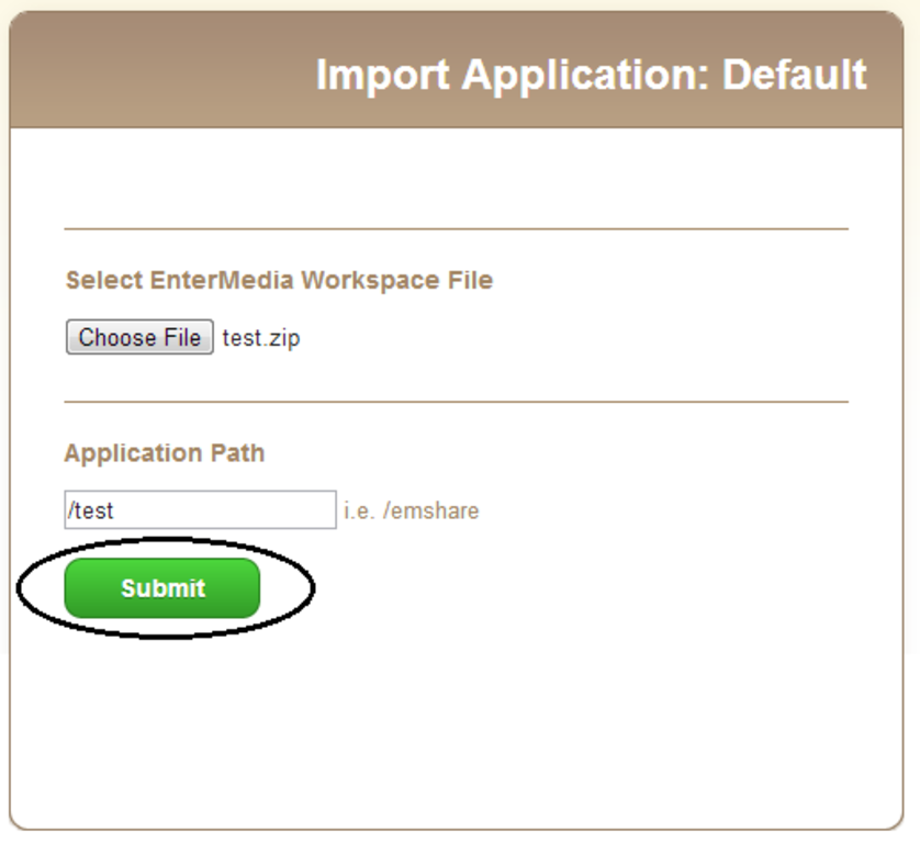 CustomizeApplication_importapp