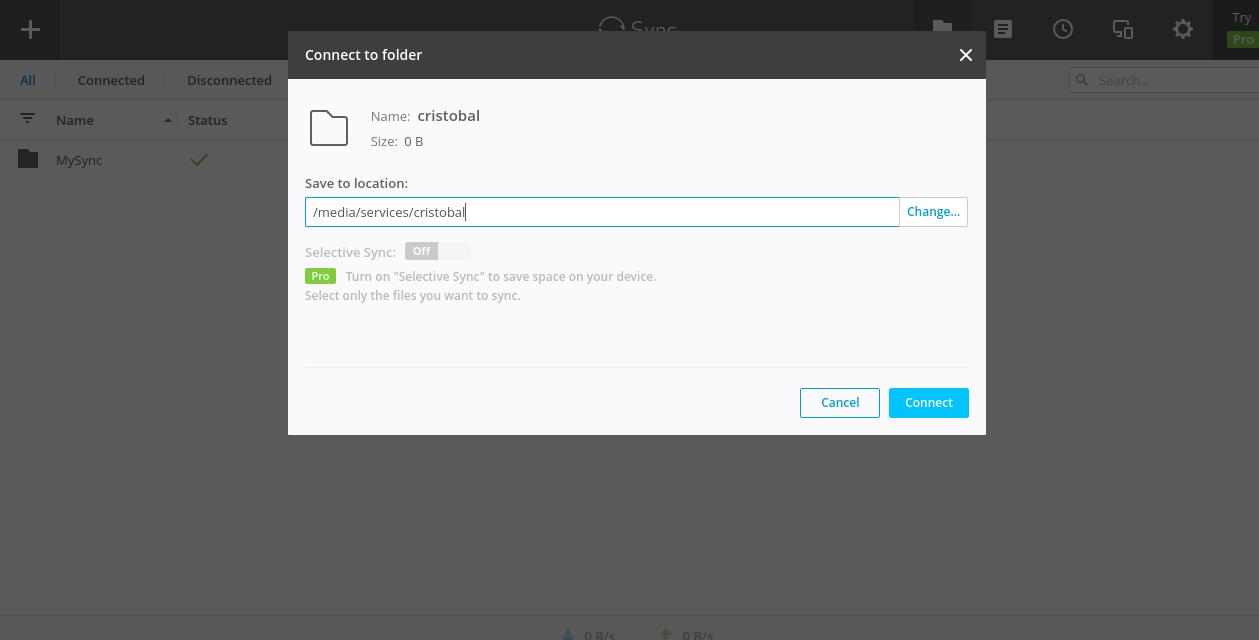 Resilio Sync with EnterMediaDb & Docker
