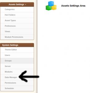 Settings Data Manager